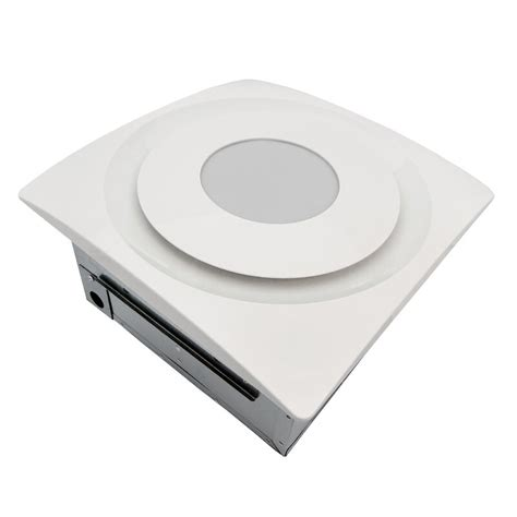 SlimFit 120 CFM Bathroom Fan with Light and Humidity Sensor
