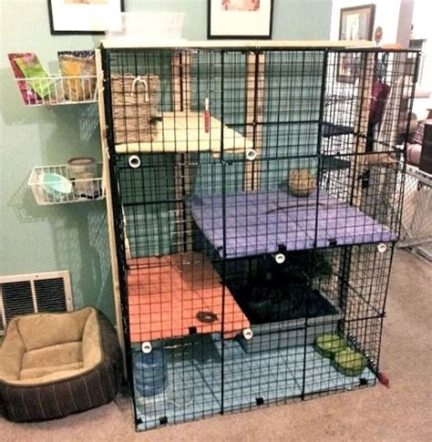 small animal indoor hutch building plans