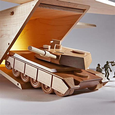 small wood projects for kids army tank home made
