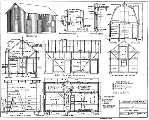 Small Barn Plans Free