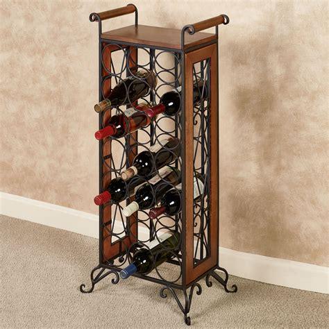 Small Floor Standing Wine Rack