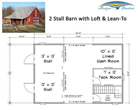 Small Livestock Barn Plans