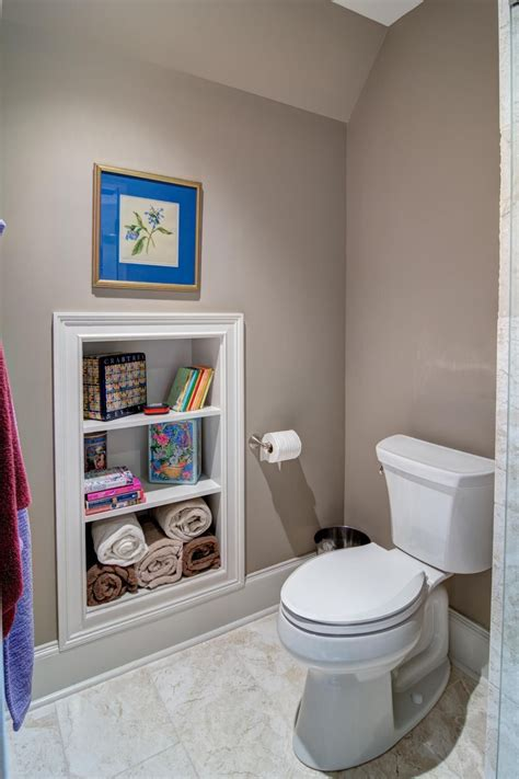 Small Space Bathroom Storage