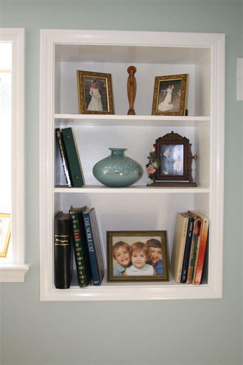 Small Wall Bookcase