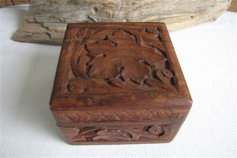 Small Wooden Chest Box