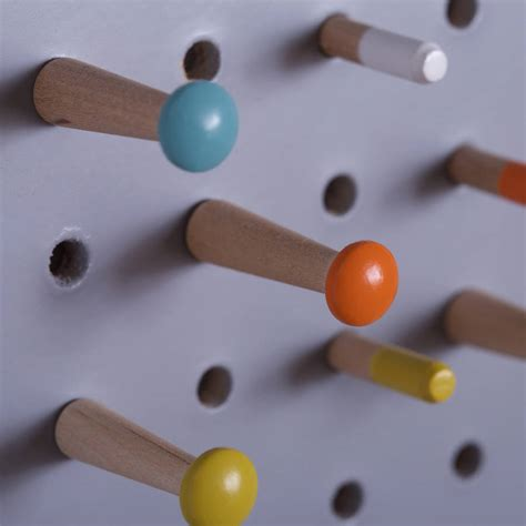 Small Wooden Pegs