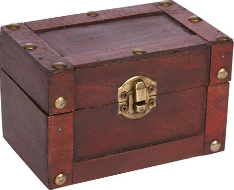 Small Wooden Treasure Chest