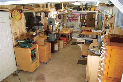 Small Woodshop Layout
