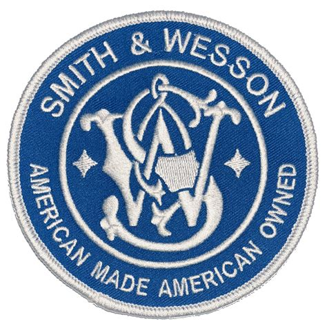 Smith-And-Wesson Smith And Wesson Logo Patch.