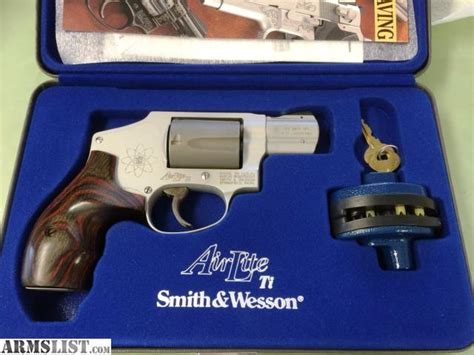 Smith-And-Wesson Smith And Wesson Model 342 Airlite Ti For Sale.