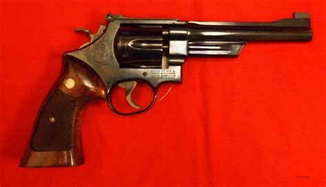 Smith-And-Wesson Smith And Wesson Model 357 41 Magnum.