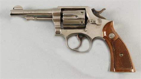 Smith-And-Wesson Smith And Wesson Nickel Plated 38 Special M&p.