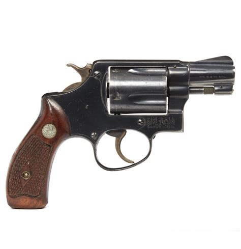 Smith-And-Wesson Smith And Wesson Snub-Nosed Revolvers.