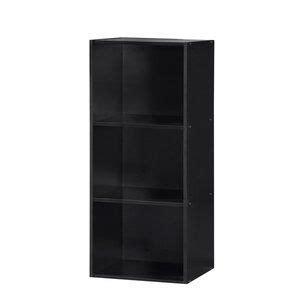 Smithville 3 Shelves Standard Bookcase