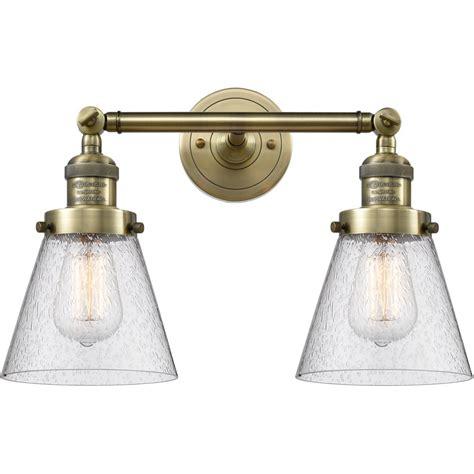 Snider Vintage 2-Light Vanity Light