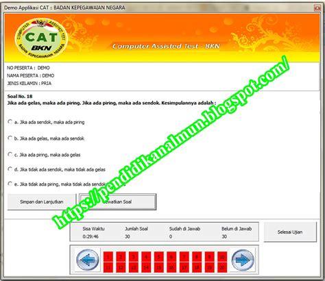 Soal Cpns 2017 Kemenkumham Simulasi Cat Cpns Online 2018