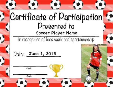 Soccer certificate template word exolabogados soccer certificate template word yadclub Images