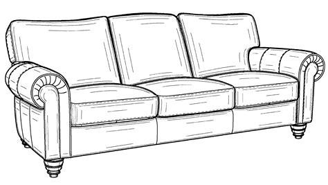 Sofa Zeichnung