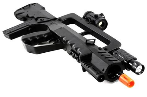 Rifle-Scopes Soft Air Famas Tactical Rifle Red Dot Scope Silencer Light.