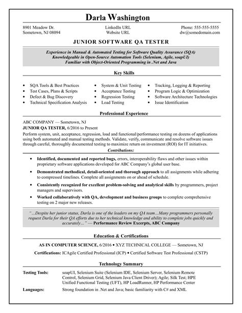 software testing resume samples for 1 year experience resume samples accredited flexible degree programs - Software Testing Resume Samples