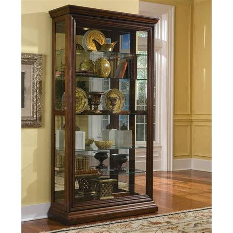 Solari Lighted Curio Cabinet