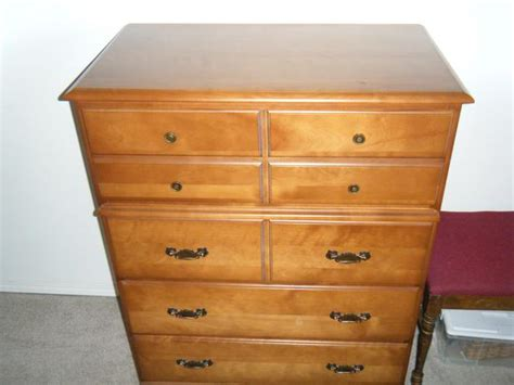 Solid Wood Maple Dresser