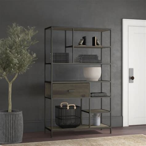 Somerset Etagere Bookcase