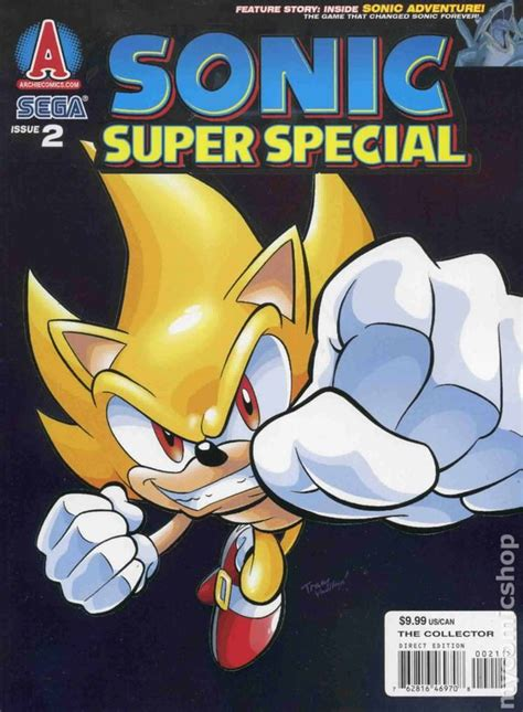 Read Books Sonic Super Special Magazine #2 Online