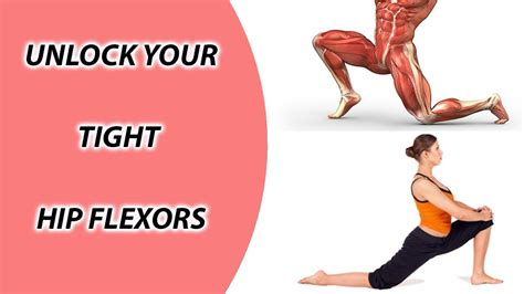 sore hip flexor muscles stretches for splits youtube