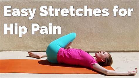 sore hip flexor stretches yoga youtube jillian