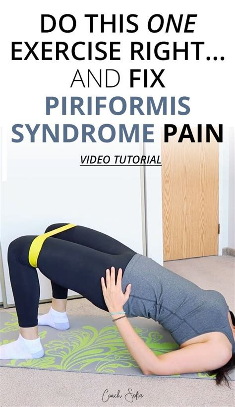 sore hip flexors and piriformis muscle syndrome exercises