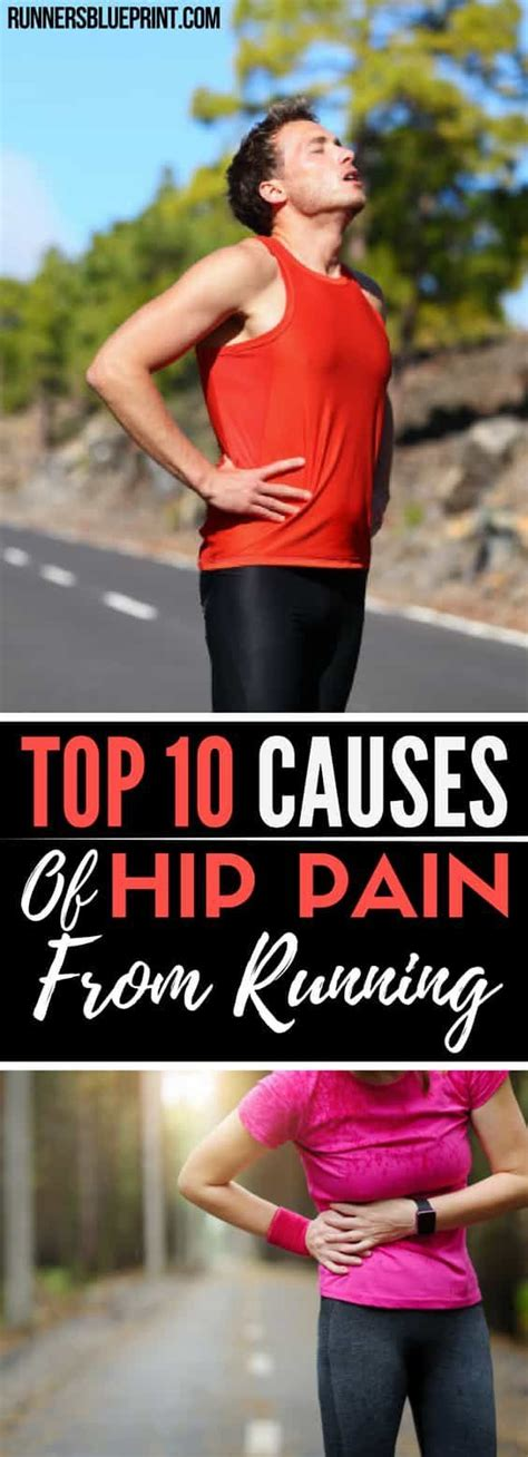 sore hip muscles after running
