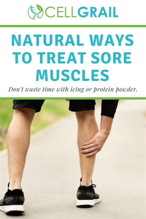 sore muscles after workout remedy for sore