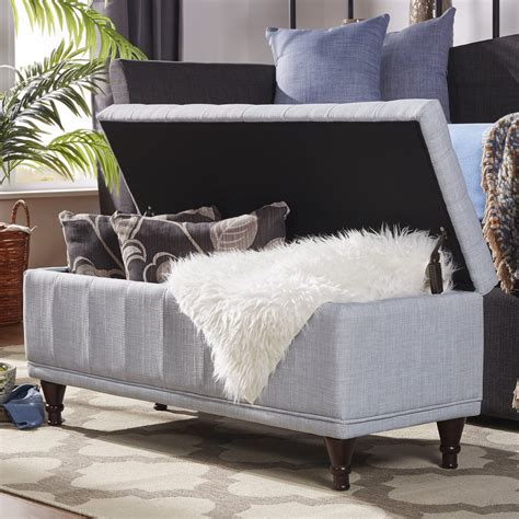 Southampton Upholstered Storage Bench