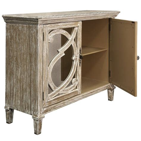 Southfield Mirrored Front 2 Door Accent Cabinet