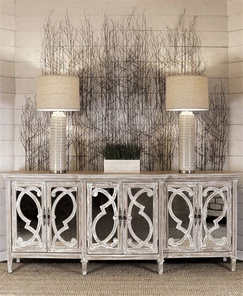 Southfield Mirrored Front 6 Door Accent Cabinet