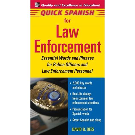 resume objective law enforcement spanish for law enforcement ed2go - Law Enforcement Resume Objective