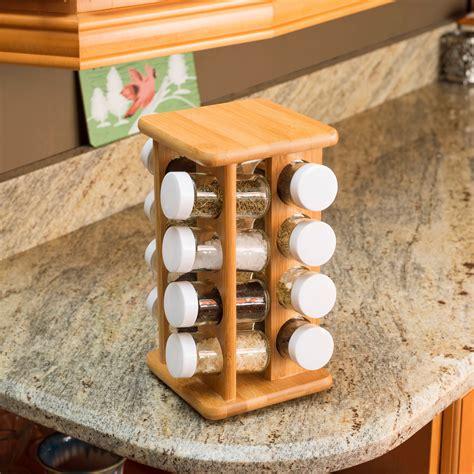 Spice Rack Wooden