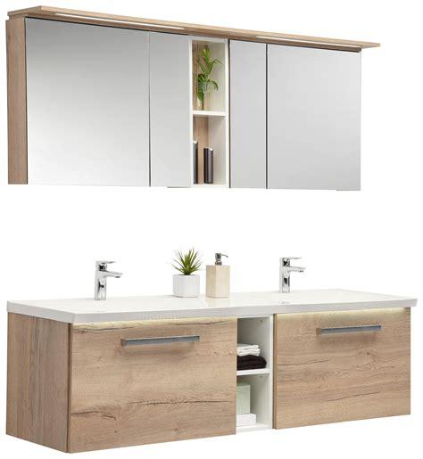 Spiegelschrank Doppelwaschbecken