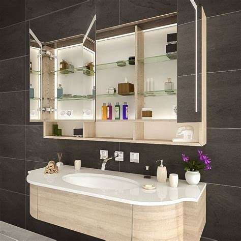 Spiegelschrank Im Badezimmer