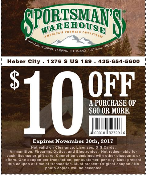 Sportsmans-Warehouse Sportsman Warehouse Discount Coupons