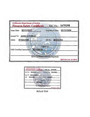 Sportsmans-Warehouse Sportsman Warehouse Gun Safety Certificate.