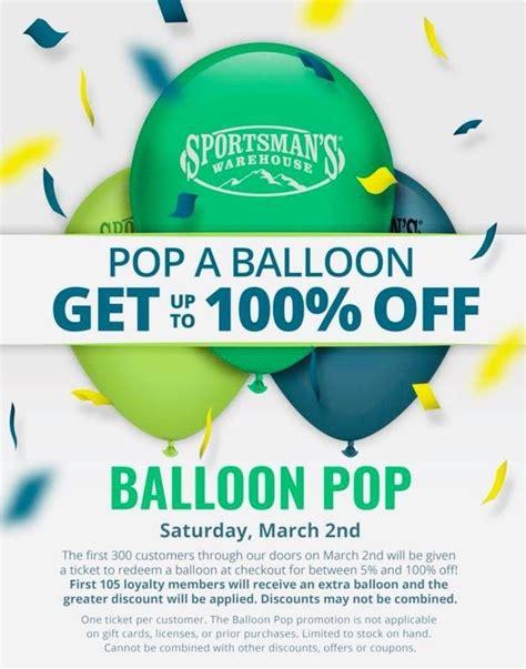 Sportsmans-Warehouse Sportsmans Warehouse Balloon Pop.