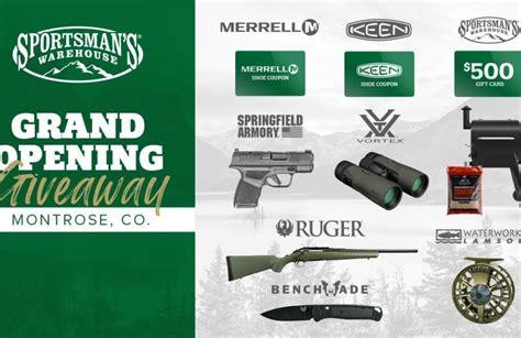 Gunkeyword Sportsmans Warehouse Registration For Prizes.