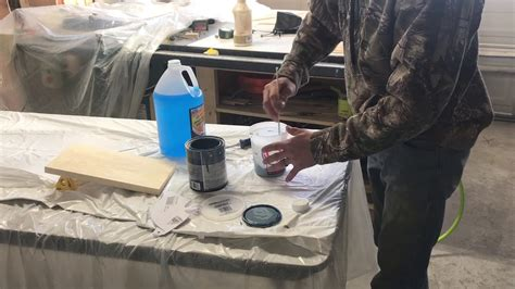 Spraying Latex Paint With Hvlp