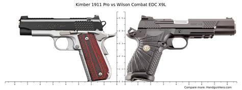 Wilson-Combat Springfield 1911 Pro Vs Wilson Combat.