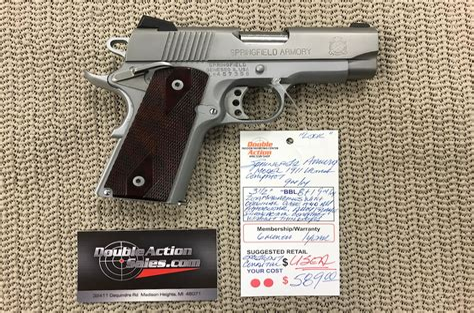 Gunkeyword Springfield Armory 1911 Pistols Compact.