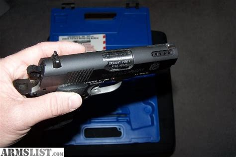 Vortex Springfield Armory 1911 Stainless Steel Ported Barrel.