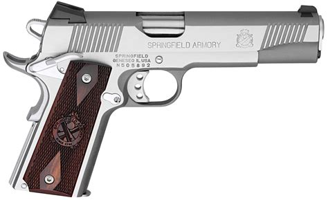 Gunkeyword Springfield Armory Loaded 1911 .45acp Stainless Steel.