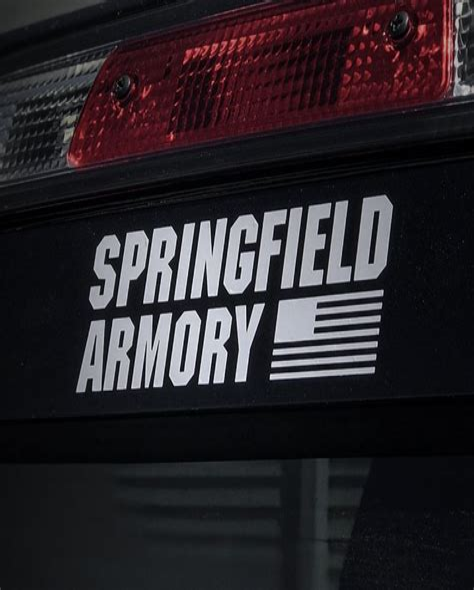 Vortex Springfield Armory Logo Stickers.